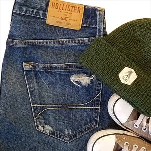 Hollister Hermosa Low Rise Boot Cut 30/32